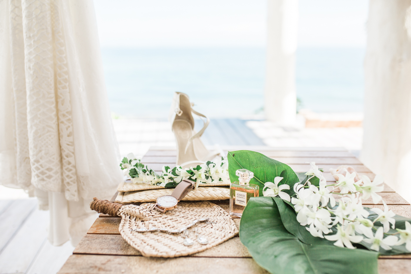 Wedding styling at Malamala Beach club